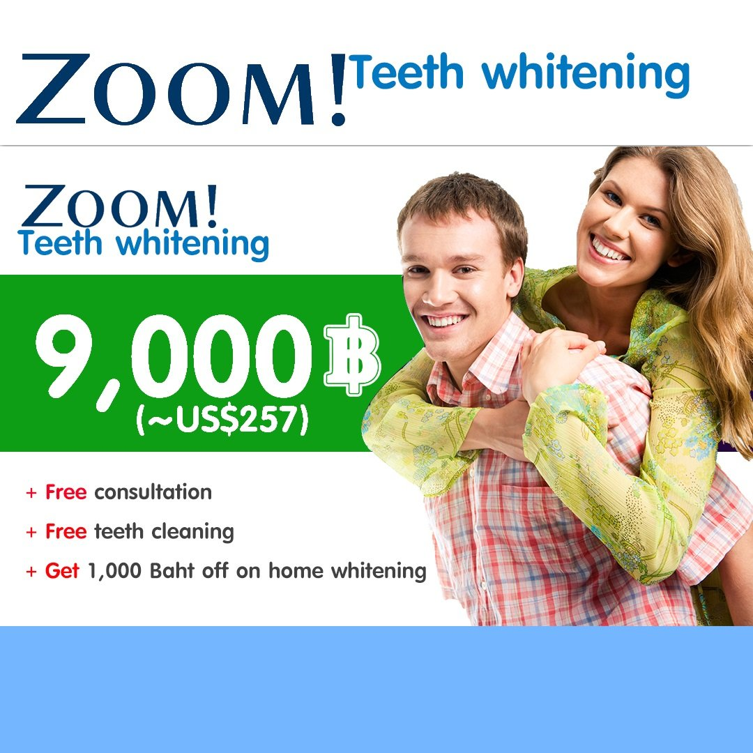 Pattaya Dental Clinic - Promotion - ZOOM
